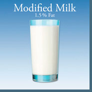 Modified Milk (1.5% Fat)